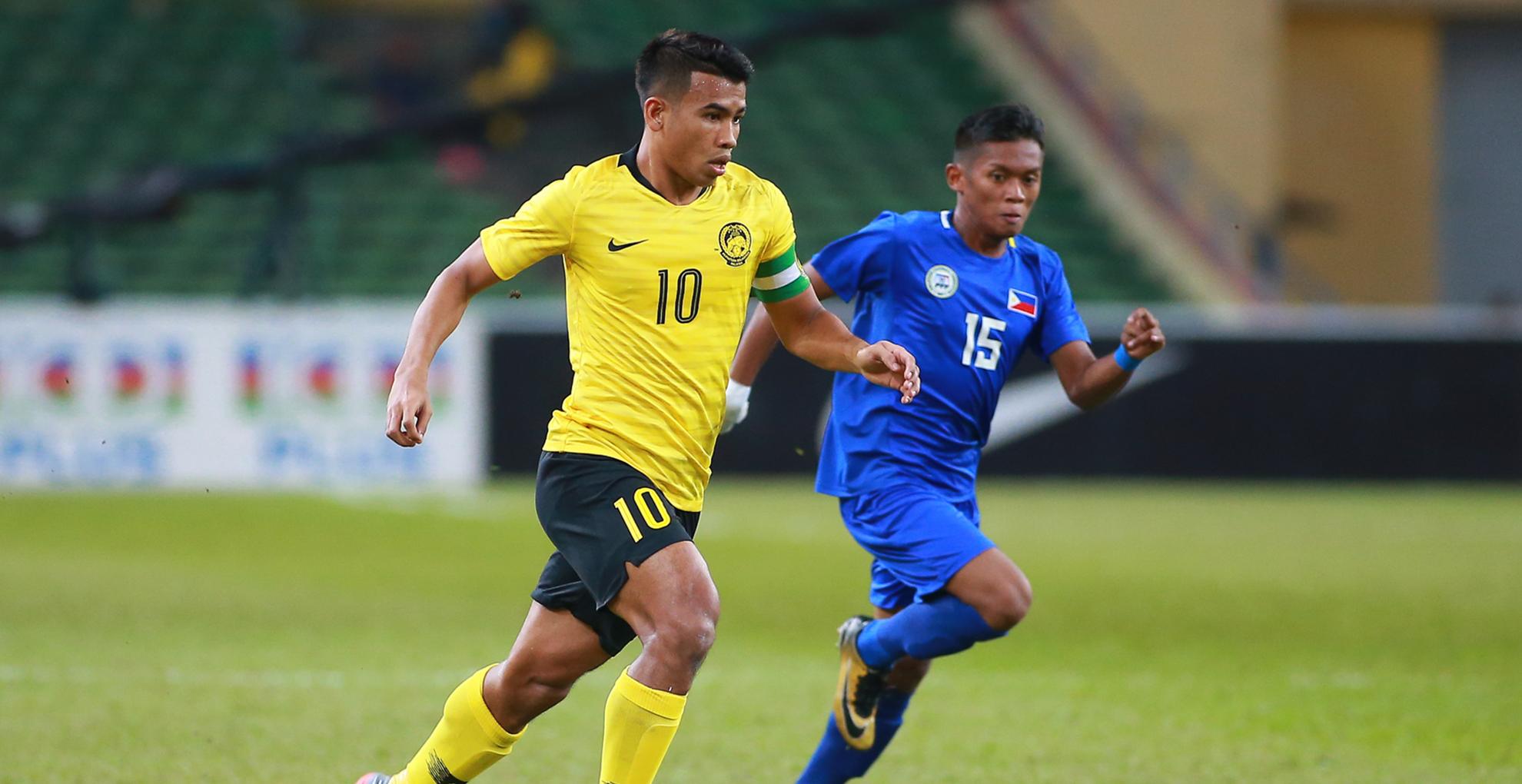 Safawi Rasid, Malaysia U23 v Philippines U23, AFC U23 Championship, 22 Mar 2019