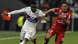 Maxwell Cornet Ruben Aguilar Lyon Montpellier Ligue 1 19112017
