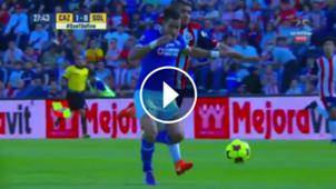 Miguel Ponce Expulsion Chivas Cruz Azul