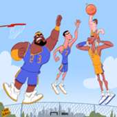 LeBron James Cristiano Ronaldo Kobe Bryant Lionel Messi Cartoon