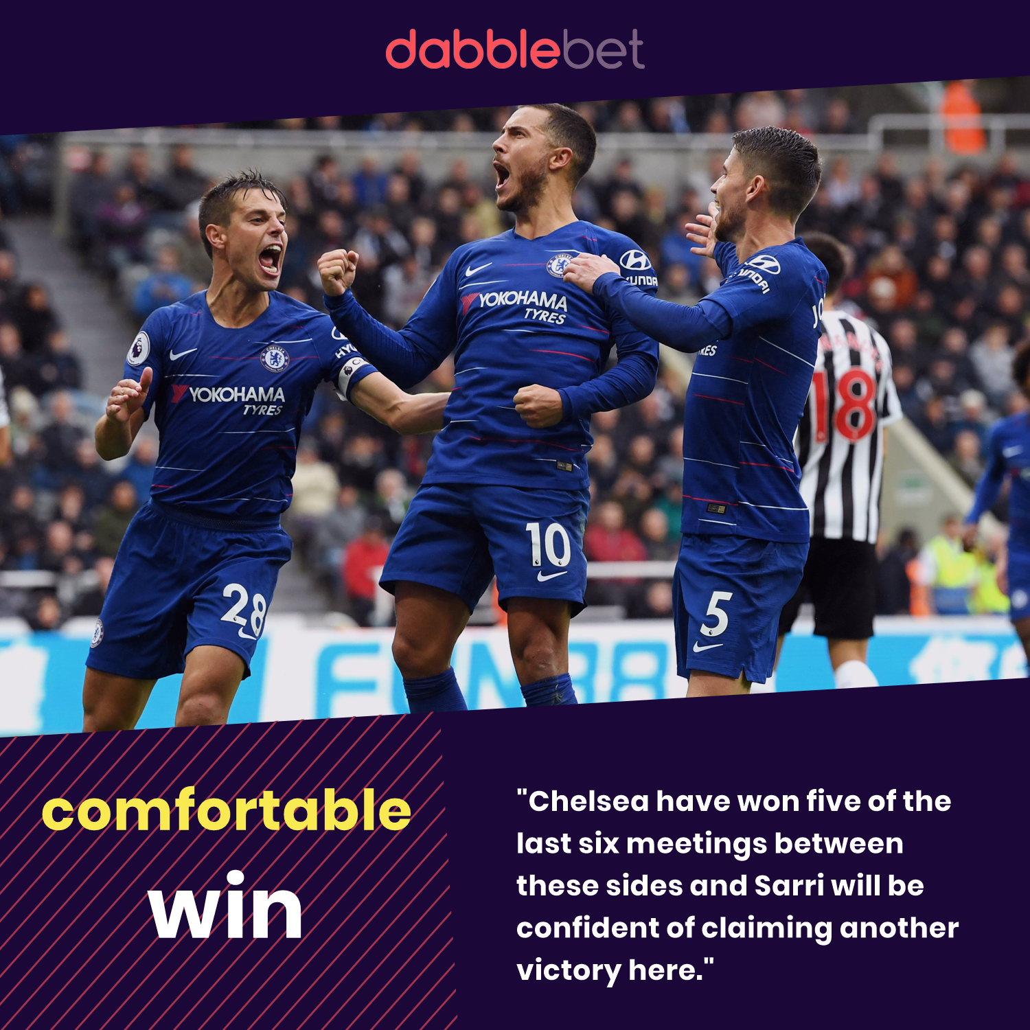 Chelsea Bournemouth graphic