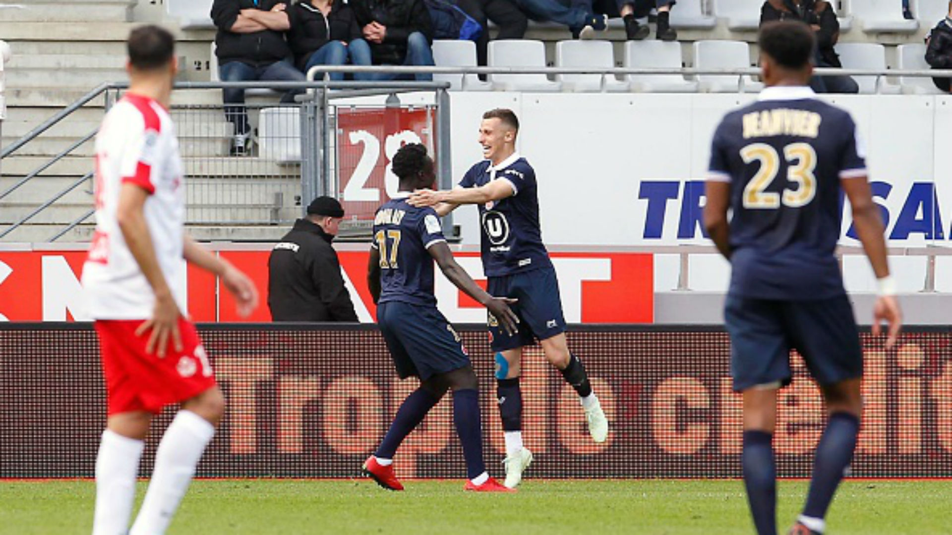 Remi Oudin Ligue 2 Reims