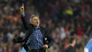 Jose Mourinho Inter barcelona 2010 Champions League