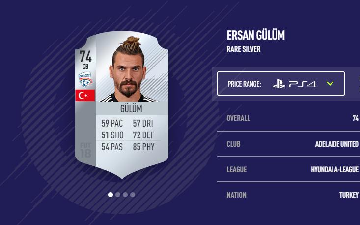 Ersan Gulum FIFA 18