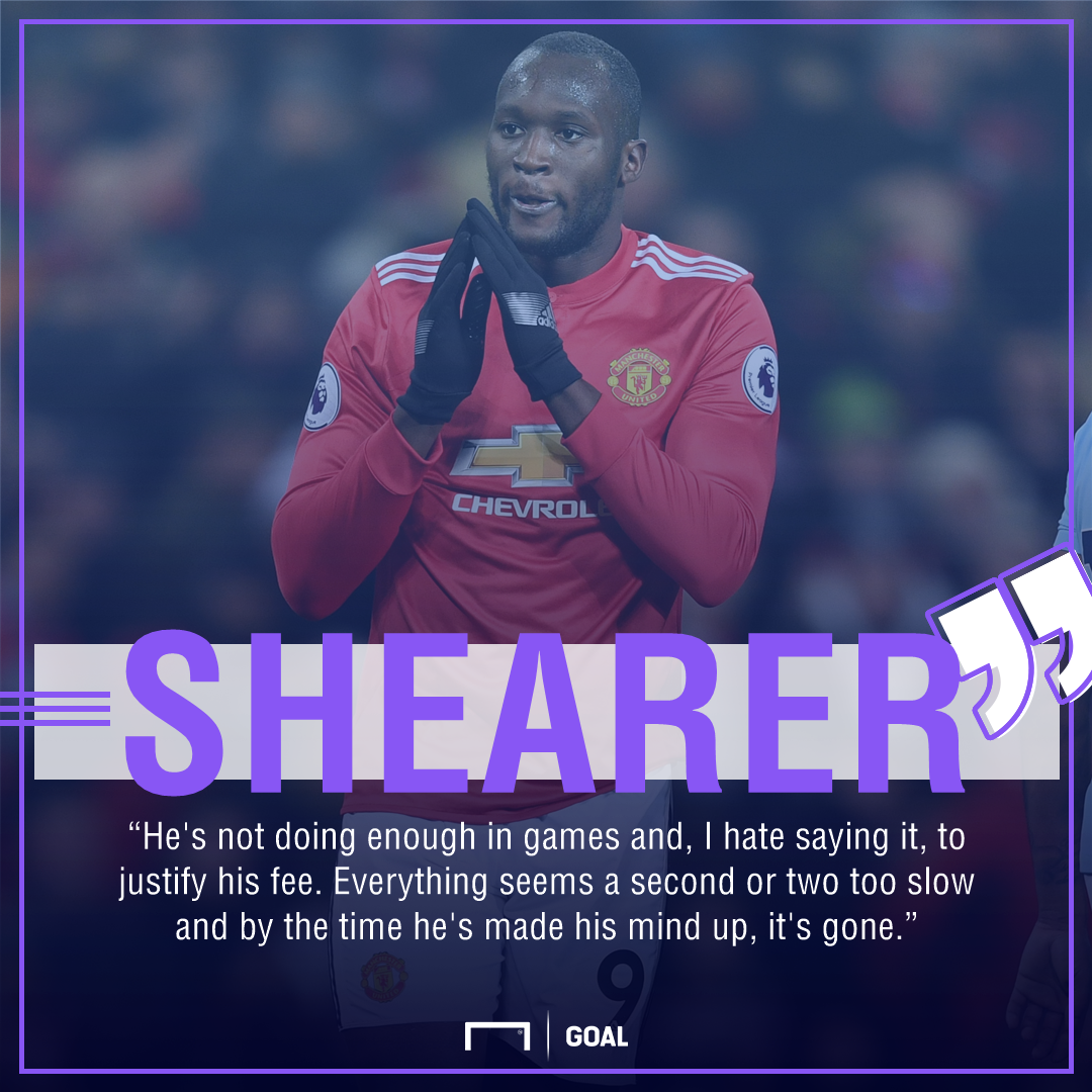 Romelu Lukaku will not become a Manchester United legend