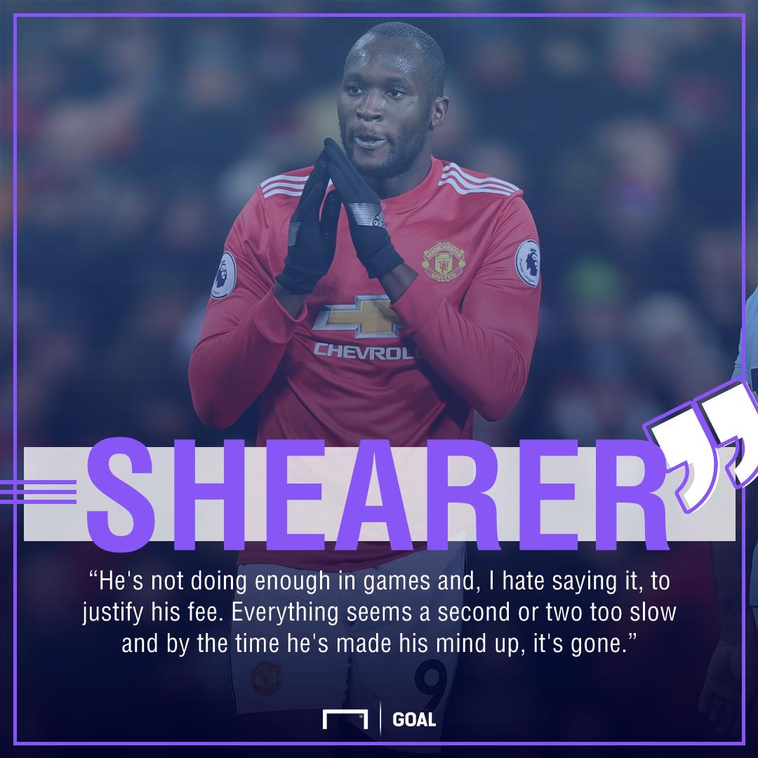 Alan Shearer Romelu Lukaku not justifying fee