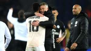 Marcus Rashford Ole Gunnar Solskjaer Manchester United PSG Champions League 2019