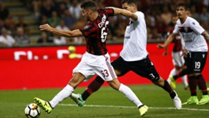 Cutrone Milan Cagliari Serie A