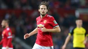 Daley Blind, Manchester United v Burton