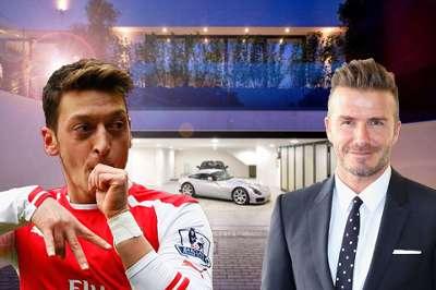 Galery Mansions Mesut Özil David Beckham 18052017