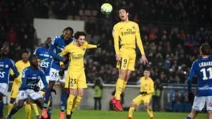 Straßburg Paris Saint-Germain Cavani Rabiot 02122017