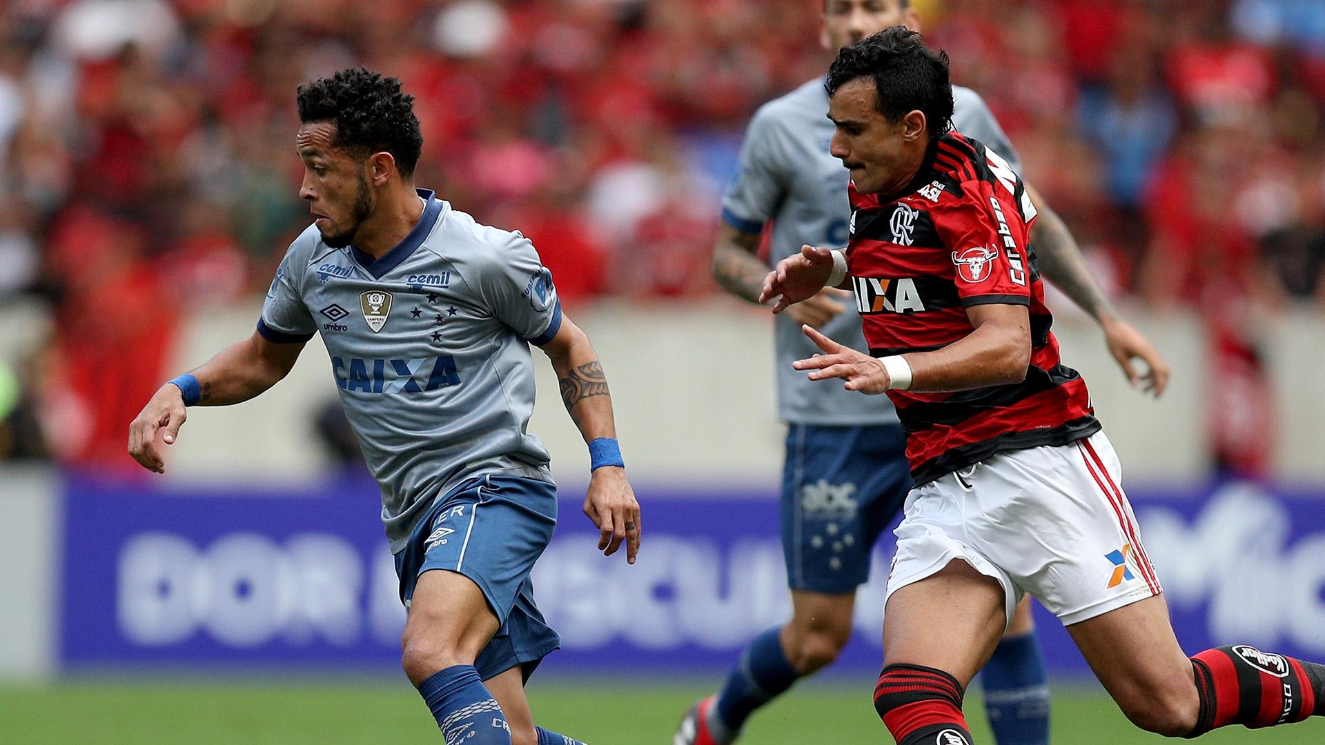 Rafinha Henrique Dourado Flamengo Cruzeiro Brasileirao Serie A 12082018