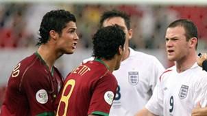 Cristiano Ronaldo pauleta Rooney Copa do Mundo 2006
