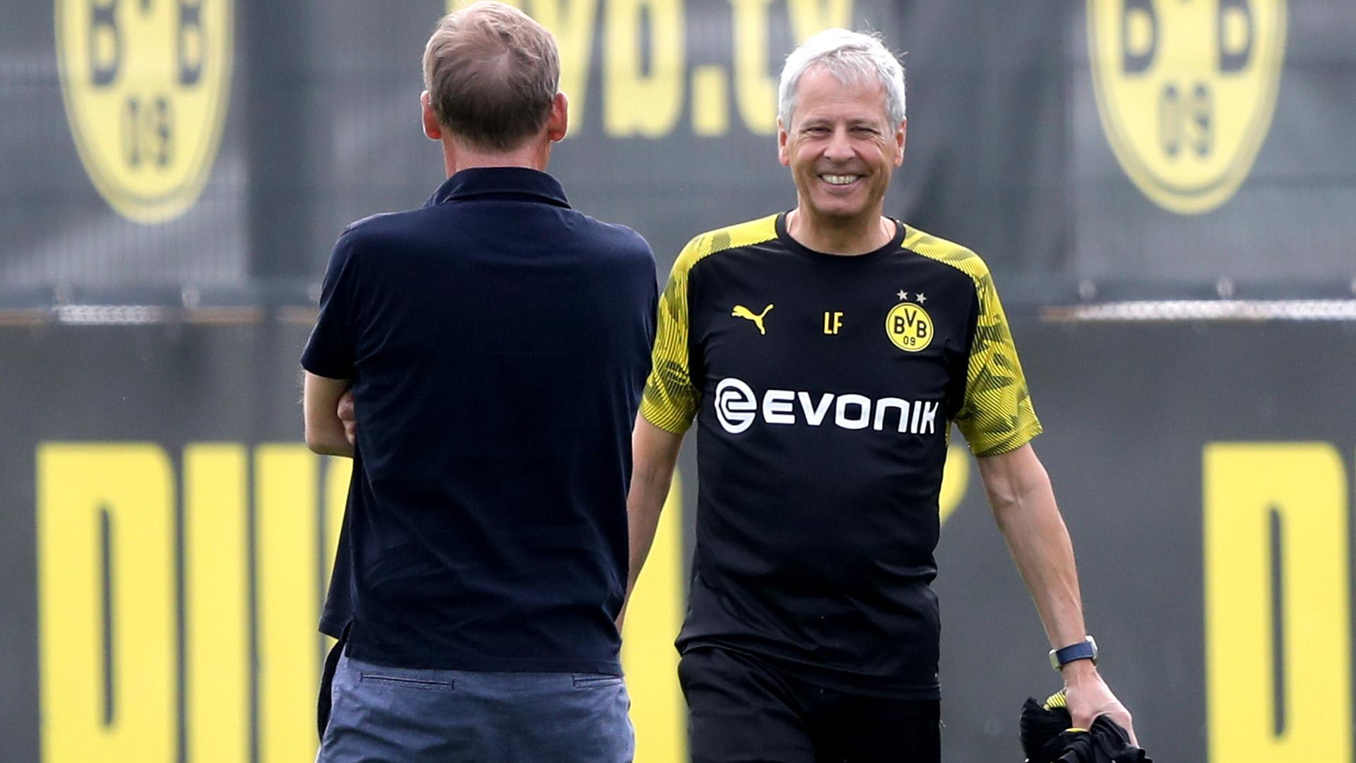 Watzke Lucien Favre BVB Borussia Dortmund