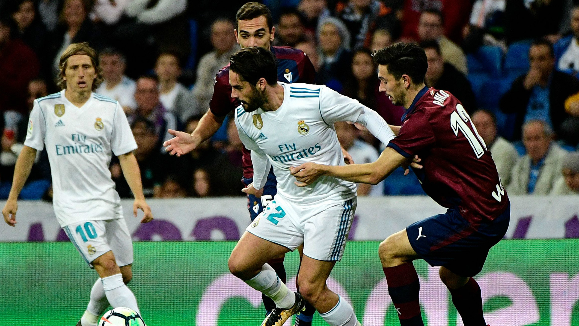 Isco Modric Real Madrid Eibar LaLiga