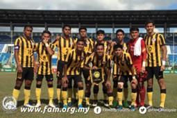 Malaysia U18, AFF U-18 Youth Championship, 12092017