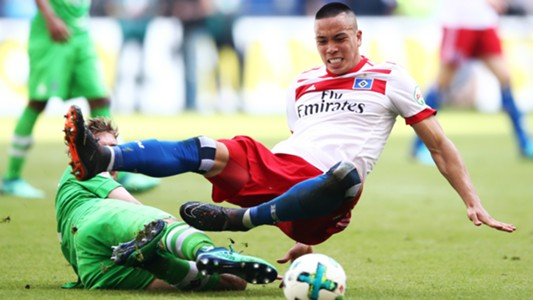 BOBBY WOOD HAMBURG GERMAN BUNDESLIGA 12052018