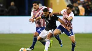 Javier Hernandez Chicharito Mexico Rodrigo Rojas Gustavo Gomez Paraguay