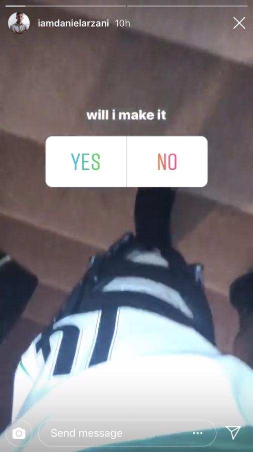 Daniel Arzani Instagram