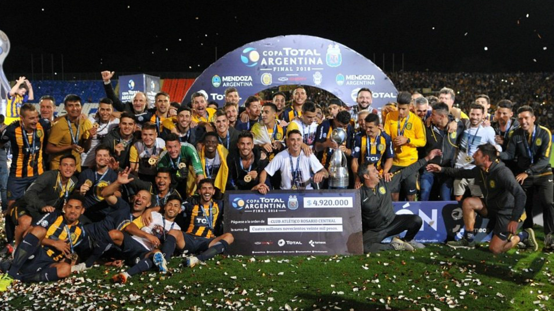 Rosario Central Campeon Copa Argentina 06122018