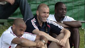 Zinedine Zidane Thierry Henry Claude Makelele