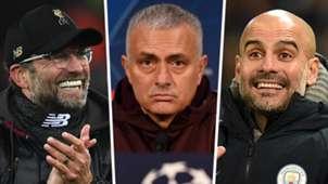 Klopp, Mourinho, Pep
