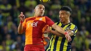 Feghouli Nabil Dirar Fenerbahce Galatasaray 3172018