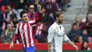 Duje Cop Sergio Ramos Sporting Gijon Real Madrid La Liga