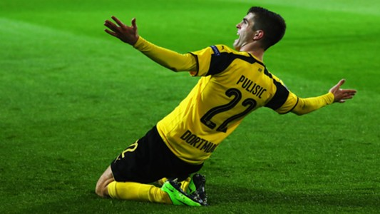 Christian Pulisic Borussia Dortmund Champions League