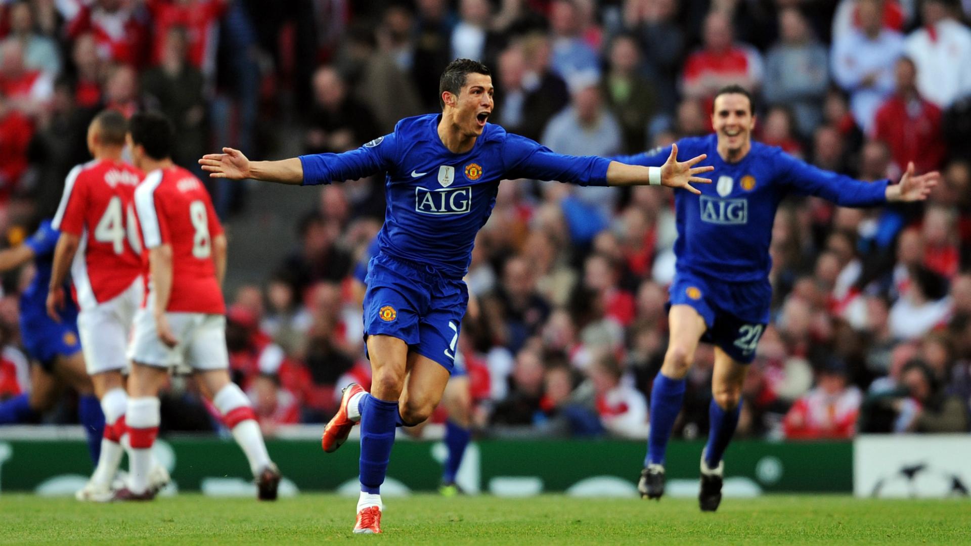 Cristiano Ronaldo Manchester United Arsenal