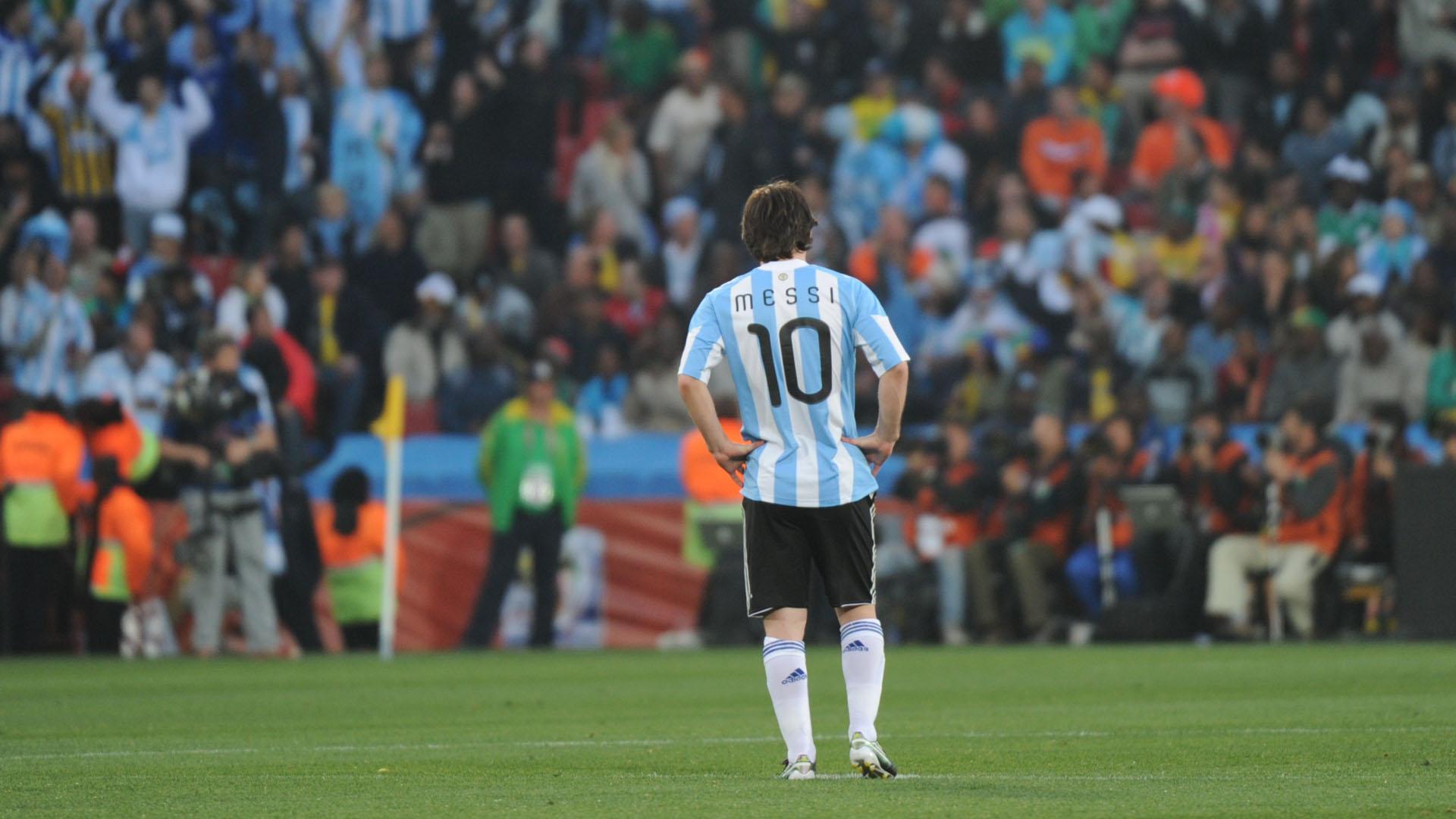 Lionel Messi Argentinien WM 2010 12062010