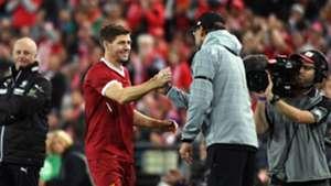 Steven Gerrard Jurgen Klopp Liverpool