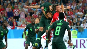 William Ekong Mario Mandzukic Croatia Nigeria World Cup 2018