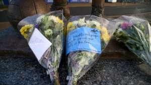 Emiliano Sala flowers Cardiff City