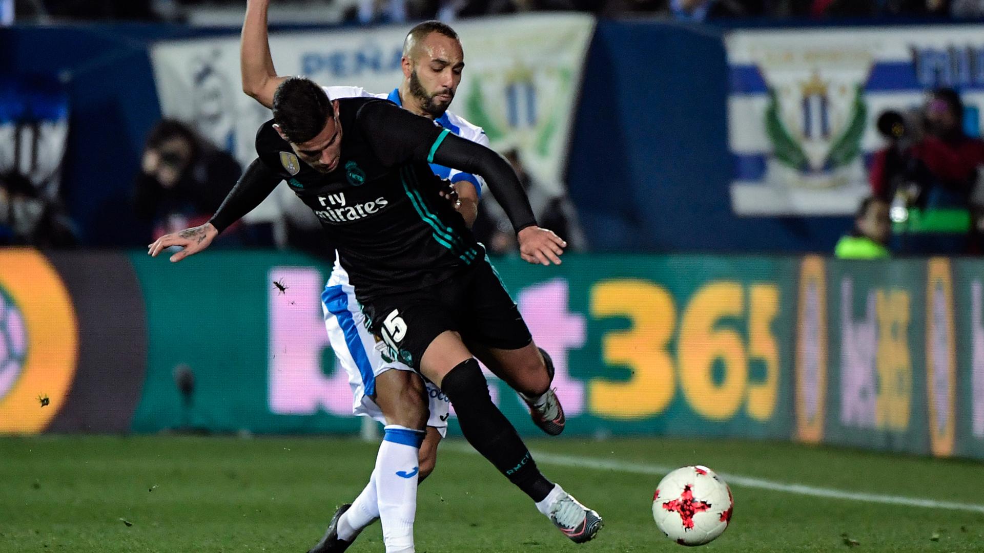 Leganes Real Madrid Nabil El Zhar Theo Hernandez 18.01.2018