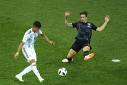 croatia argentina - maximiliano meza sime vrsaljko - world cup - 21062018
