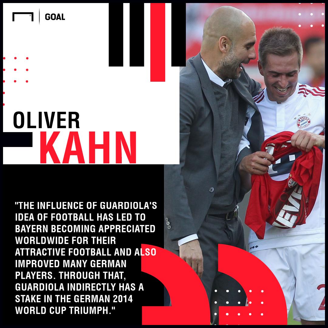 Oliver Kahn Pep Guardiola PS