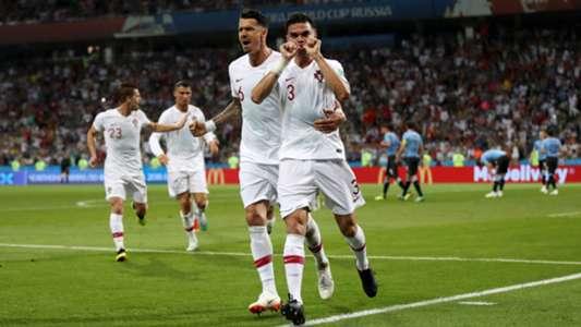 Pepe Portugal World Cup goal Uruguay 300618