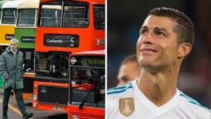 Jose Mourinho Bus Cristiano Ronaldo