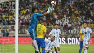 Sergio Romero Argentina Brasil Amistoso internacional 16102018