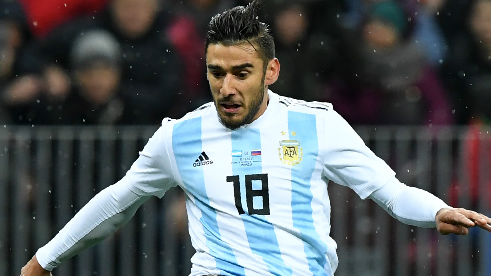 Eduardo Salvio se perderá la próxima fecha FIFA con la Seleción Argentina