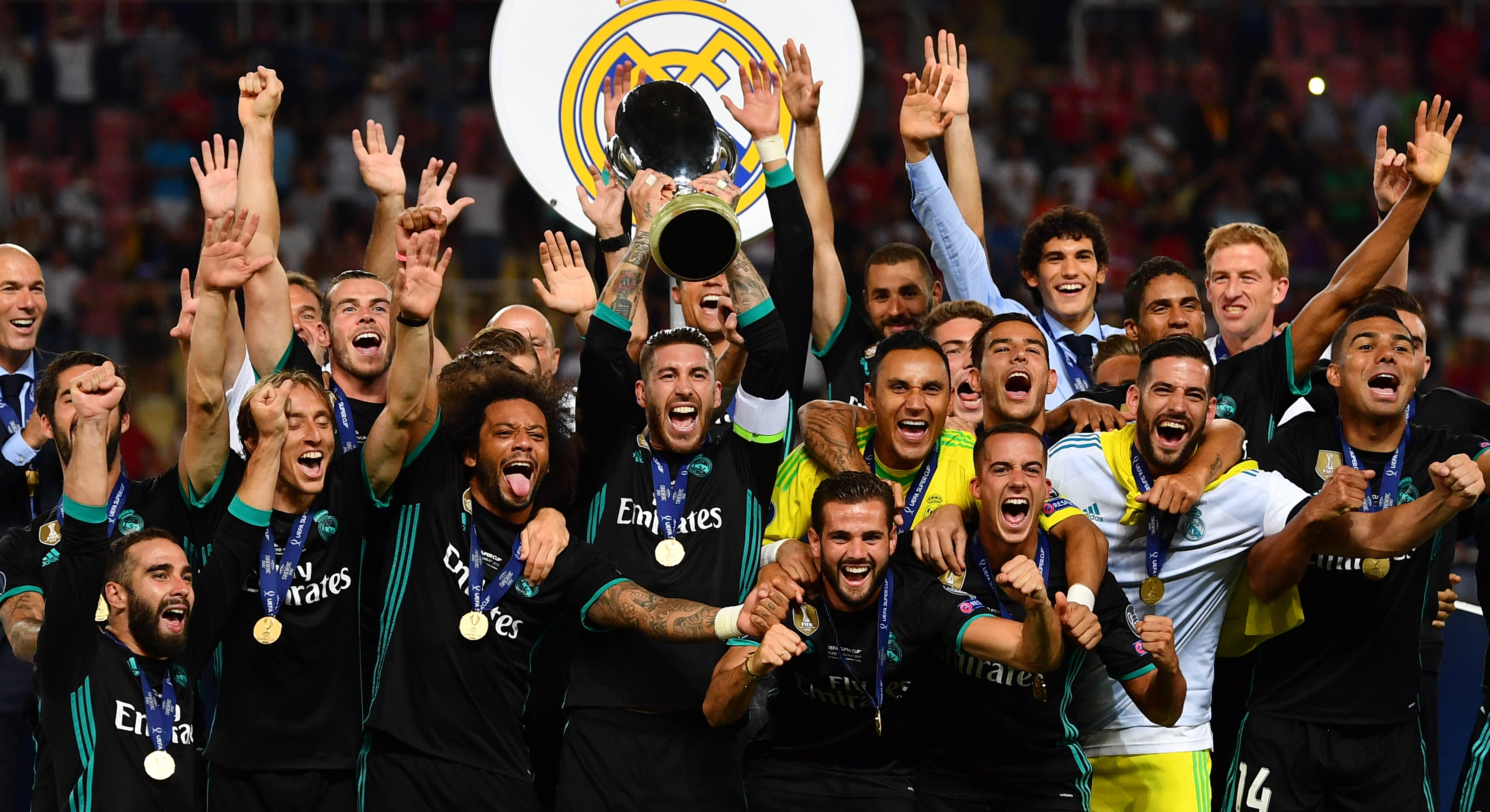 Real Madrid Manchester United UEFA Super Cup