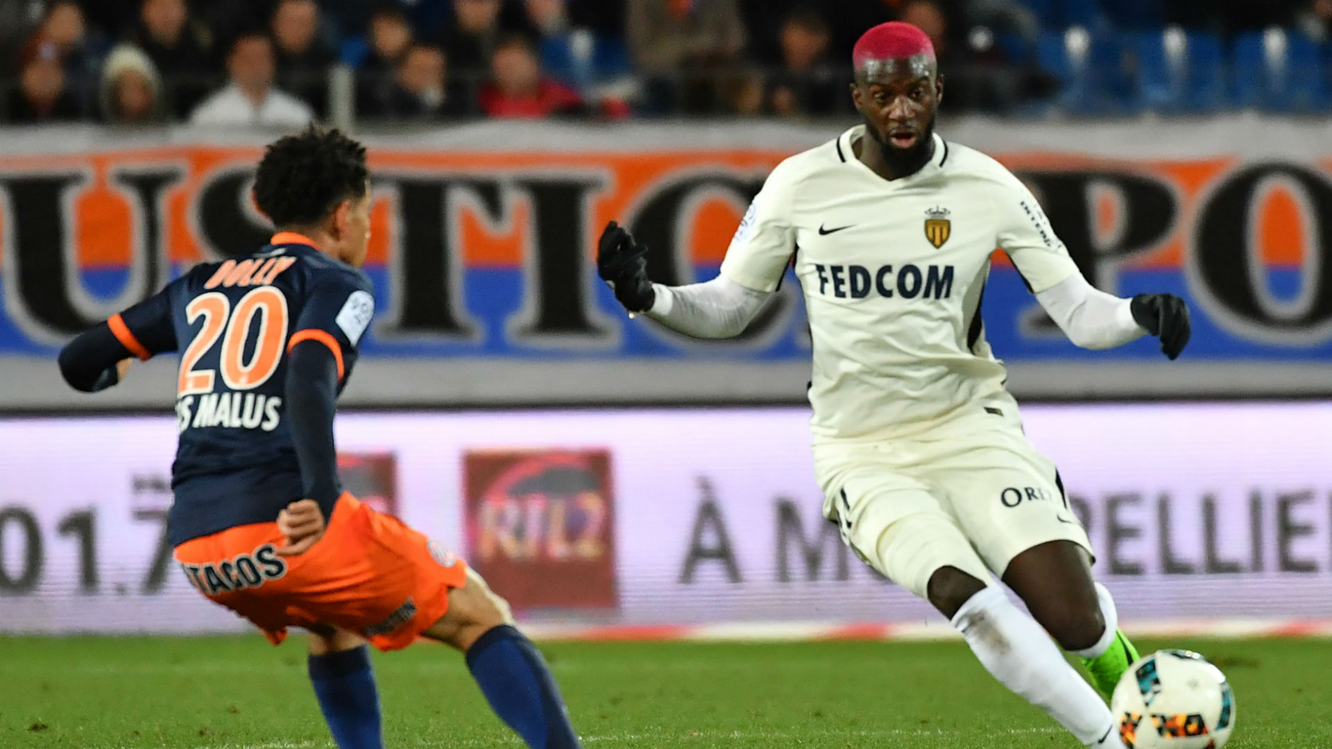 Tiemoue Bakayoko Monaco v Montpellier