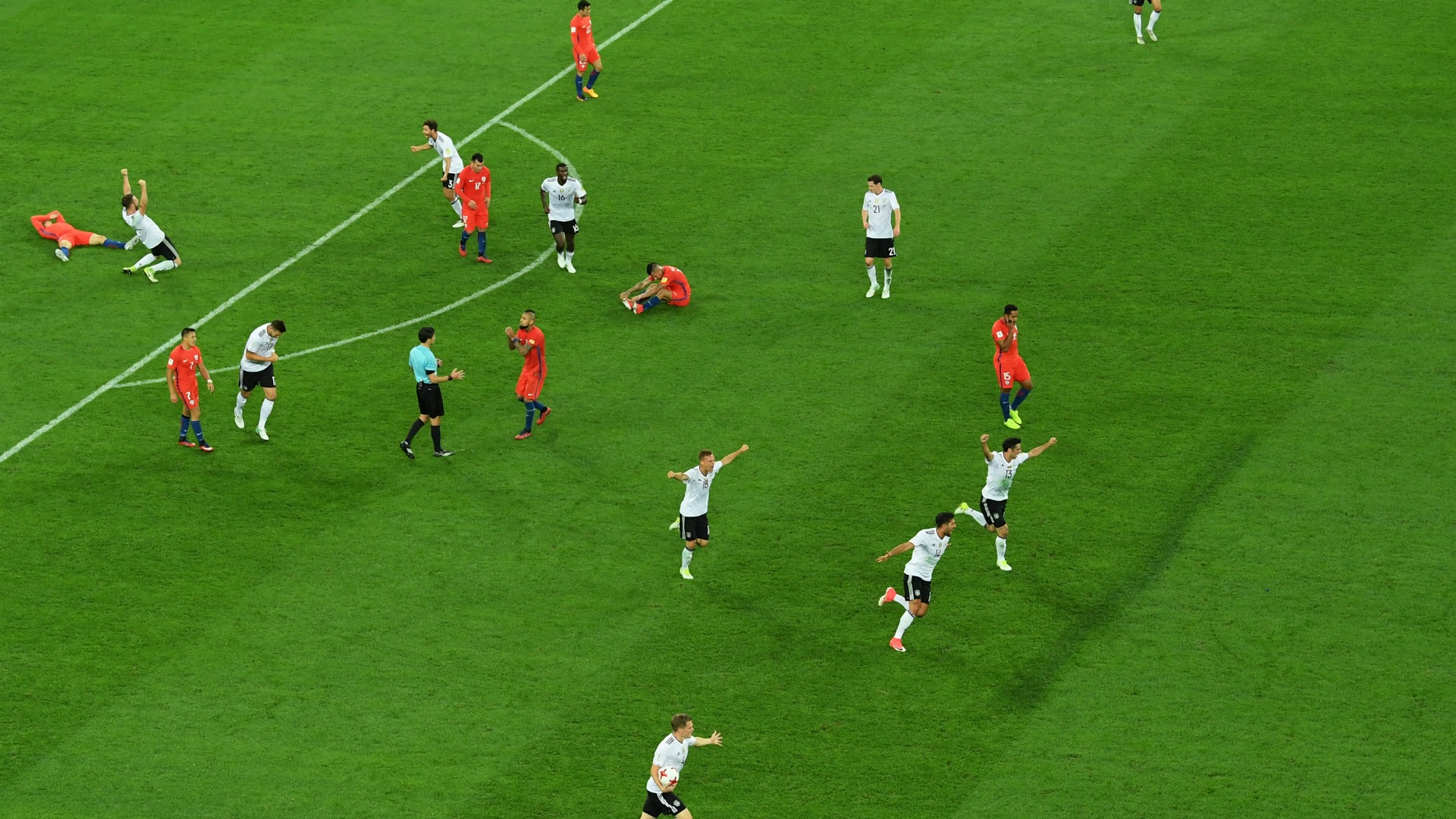 Chile Germany minute 90 020717 Confederations Cup