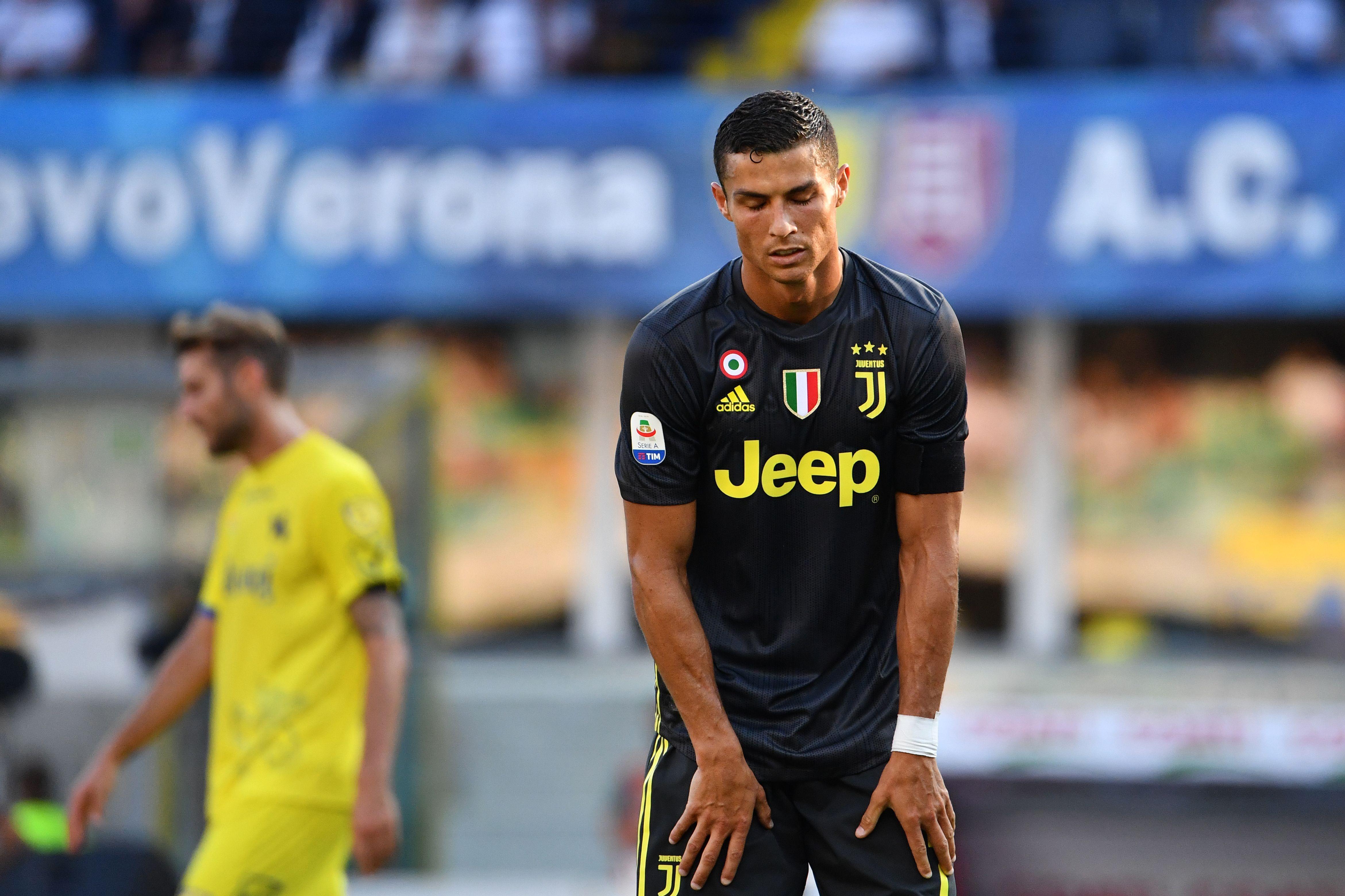 Cristiano Ronaldo Chievo Juventus Serie A 2018-19