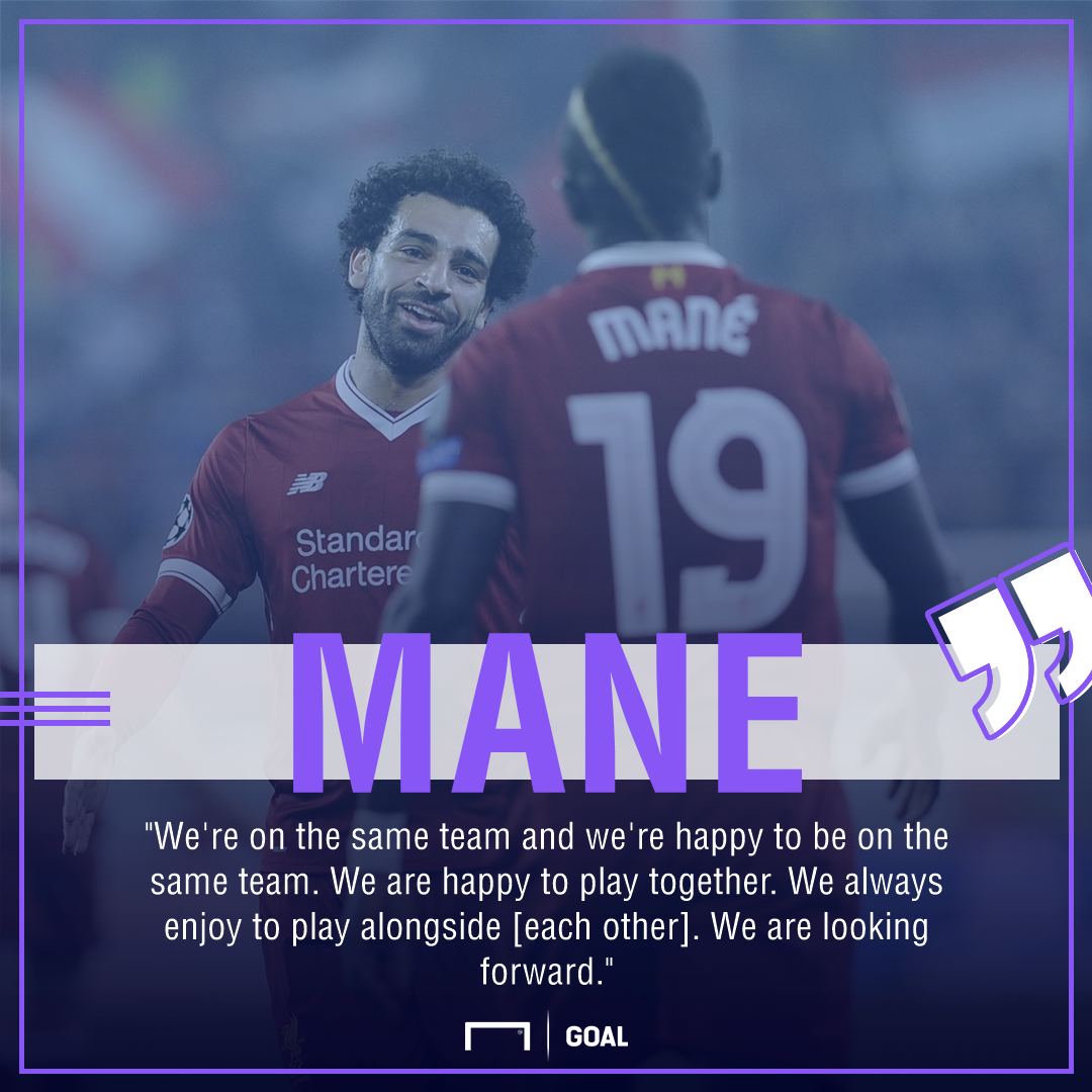 Sadio Mane Mohamed Salah no rift