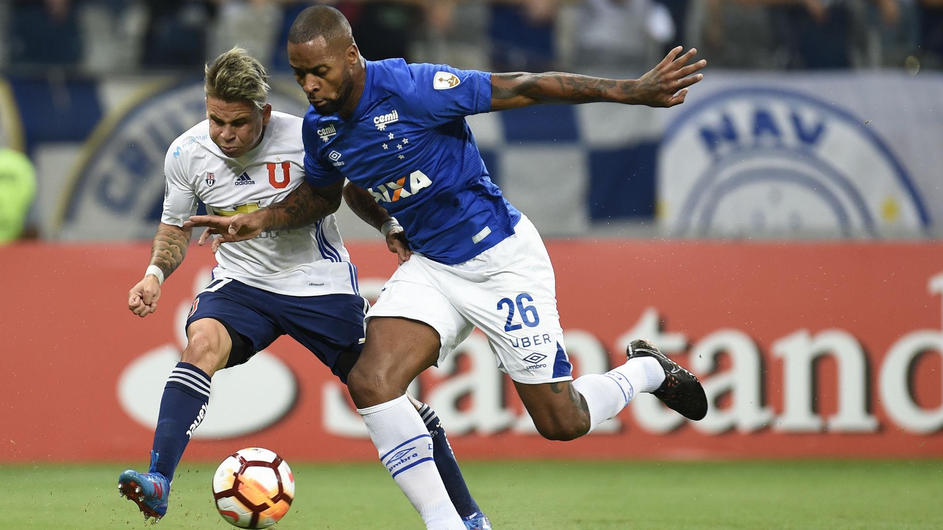 260418 Dedé - Yeferson Soteldo - Cruzeiro vs Universidad de Chile