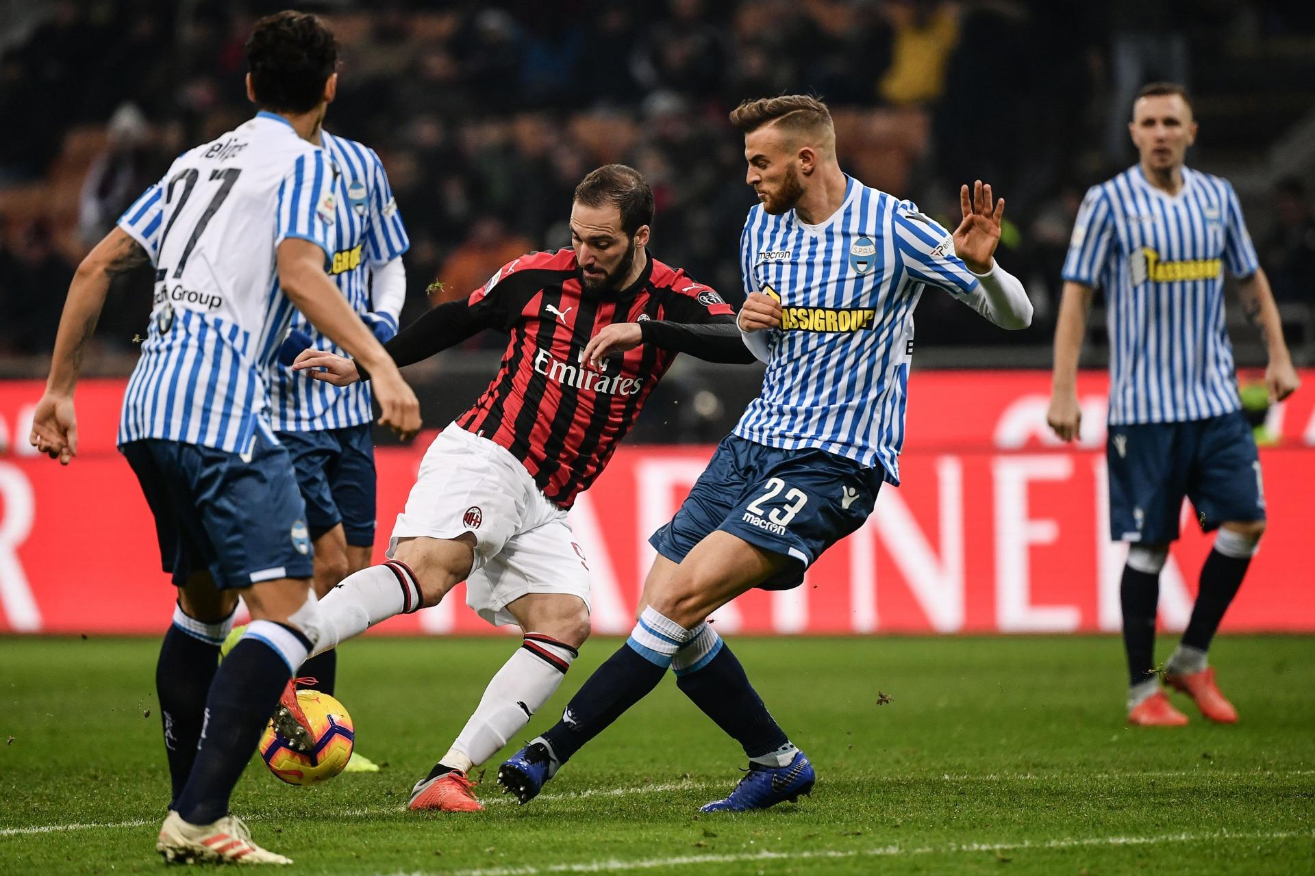 SPAL-Milan: formazioni ufficiali e dove vederla in TV e streaming