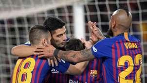 300119 Barcelona Sevilla Jordi Alba Luis Suárez Arturo Vidal
