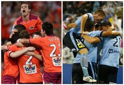 Brisbane Roar Sydney FC A-League
